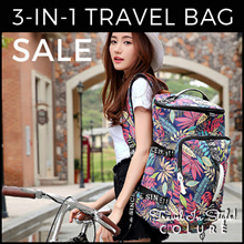 BEST VALUE HIGH QUALITY TRAVEL BAG ★ Backpack ★ Sling Bag ★ Duffel Bag ★ Hand Carry Luggage ★
