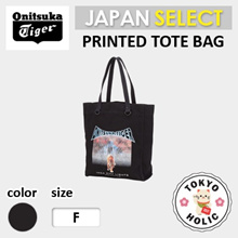 (Japan Release) Onitsuka tiger / PRINTED TOTE BAG /shoulder bag/tote bag/Backpacks/Onitsuka tiger
