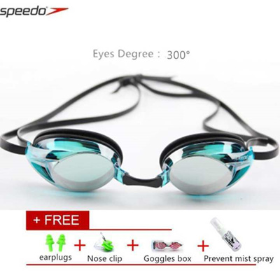 7e17ccbc41 Speedo Goggles Eyes Degree 300° Mariner Optical Goggles Pulse Waterproof  Swim Goggles