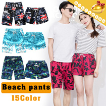 Cool Summer◆Beach Shorts for Unisex◆Elastic^Drawstring Waist/ Colorful Pants/ Loose shorts/Plus size