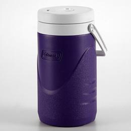 Coleman 1 Gallon / 3.8 Litre Polylite Cooler Jug Durable Outdoor Ice Drink Jugs (Purple)