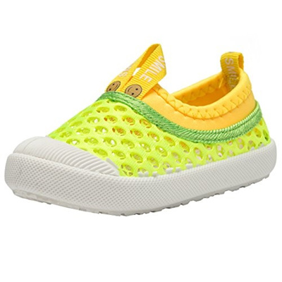2774fd30f218b8 RVROVIC Kids Slip-On Breathable Mesh Sneakers Summer Beach Water Shoes  Toddler Little Kid
