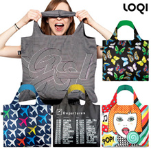 [LOQI] Supersale Only $14.50!! ✈️Germany Premium Brand Foldable bag/ Recycle bag/ Tote bag/ Eco bag/ Resistant to 20kg!