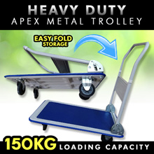 HEAVY DUTY-APEX PLASTIC TROLLEY/ JOINABLE PLASTIC TROLLEY