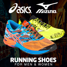 [11.11 SALE] ASICS MIZUNO RUNNING SHOE JOGGING TRAINERS SHOES ♠ MORE THAN 50% OFF RETAIL ♠