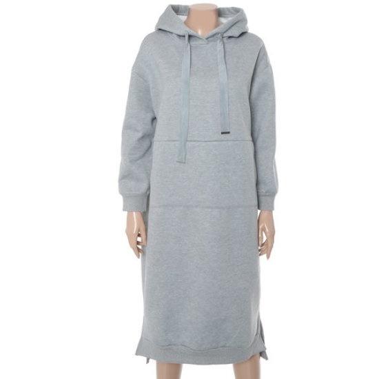 ラブLAP起毛チュリフードワンピースAH4COA20 面ワンピース/ 韓国ファッション