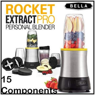 Solhome Bella Rocket Blender Xj 13409a Rocket Mixer Food Grinder Kitchen Extract Juicer