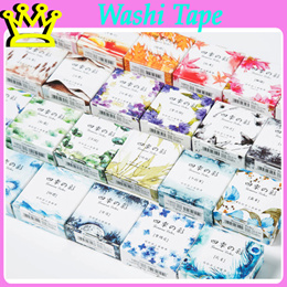 WASHI FOUR SEASONS STICKERS TAPE MASKING TAPE STATIONERY GOODIE BAG CHRISTMAS