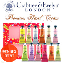 ❤Best-seller ❤ Crabtree and Evelyn 6-pc and 12-pc hand cream set. Super value!