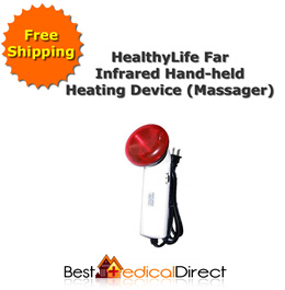 Freeshipping - HealthyLife Far Infrared Hand-held Heating Device (Massager)