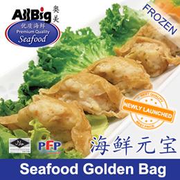 Seafood Golden Bag(200G)(10Pcs)(Frozen)(Halal)