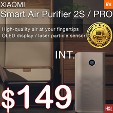 OFFICIAL RETAILER LOWEST PRICE Xiaomi Air purifier 2S 2S PRO OLED Display/ App Control  READY STOCK
