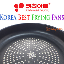 KOREA BEST FRYING PANS / Eco-friendly materials / DIE-CASTING process / Maximize non-stick / Thermal diffusion / Ergonomic design / 10inch / 11inch / 12inch / Made in Korea