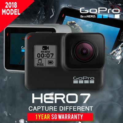 GoProGOPRO HERO 7 ACTION CAMERA * WHITE / SILVER / BLACK * 2018 MODEL *  FREE DELIVERY * WARRANTY SET