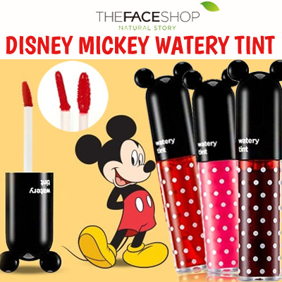 Get 2pcs!!! [THE FACE SHOP] Disney collaboration Watery Tint Deals for only Rp270.000 instead of Rp270.000