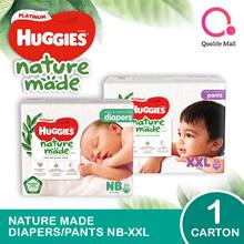 Kimberly Clark 1 x CARTON SALE: Huggies Platinum Diapers/ Pants