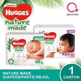 Kimberly Clark 1 x CARTON SALE: Huggies Platinum Diapers/ Pants