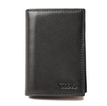 Tumi ID Case / Card Case TUMI DELTA / Delta 0118656D-ID GUSSETED Black Unused [pre]
