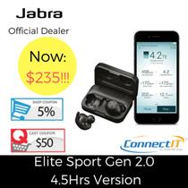 Jabra Elite Sport Gen 2 (4.5 Hrs Version) with Jabra Warranty