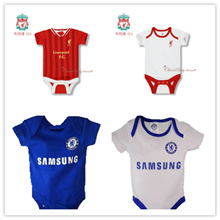 As low as $9- clearance sale! Manchester United Arsenal Liverpool Chelsea baby romper jumper jersey