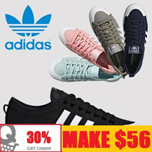 [ADIDAS]MAKE $56/ Flat price 12 Type NIZZA SHOES SNEAKERS / Qprime