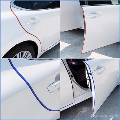 6PCS Car Door Side Edge Anti-Scratch Protector Trim Guard Stickers for Subaru