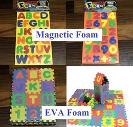 Foam Magnet / ABC Alphabet Foam mat Children gift goodies bag toys educational puzzle