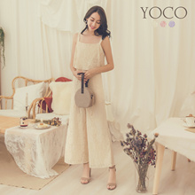 YOCO - Lace Pinafore Jumpsuit-181381-Winter