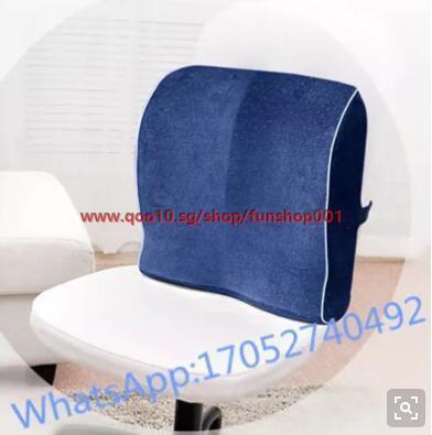 Cushion Memory Foam Cushion Office Chair Cushion Waist Waist Car Seat Backrest Lumbar Pillow Lumbar