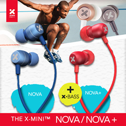 X-mini™ wired / wireless XOUNDPODS™ Series / NOVA / NOVA+ /XYRIUS / XTLAS / XTLAS+ / RAY / RAY+