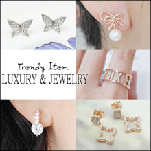 [Laurenco] 💖Supersale Only $4.9💖 / Trendy Luxurious Korean Style Earrings / Ring / Bracelet - Trendy Latest Design