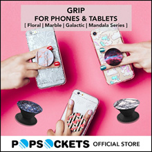 [PopSockets Official Store] Grip For Phones and Tablets Marble/Floral/Galactic/Mandala Collection