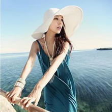 Quick View Window OpenWishAdd to Cart. rate 2. Hat women Korean version of  the summer  s big Straw Hat Sun Cap Beach Hat e692ba59d7e7