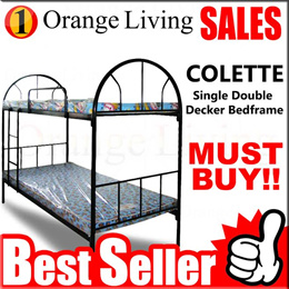 [FURNITURE SALES] Metal double decker bed Frame!FREE delivery and installation!