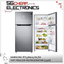 Samsung 2 Door Top Freezer Refrigerator RT53K6257SL/SS - SINGAPORE WARRANTY