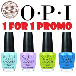 [1 + 1 PROMOTION] 100% AUTHENTIC OPI Nail Lacquer / Nail Polish | Bestseller and LATEST colours!