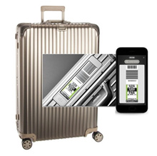 ★ Coupon price $ 1035 VAT included ★ Rimowa Carrier Topaz Titanium multi-wheel 77 size electronic tag