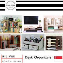 [SG Seller] Home multi-purpose desk shelf/organizer units for stationery/cosmetics/decoration/rack