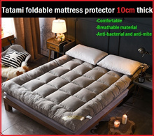 ★Popular★ TATAMI BED Fluffy Topper Anti-bacteria Mattress Protector/mattress Topper
