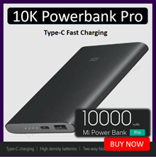Xiaomi 10000mAh MI Power Bank Pro Version With Type -C Two Way Fast Charging