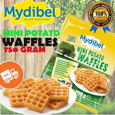 MINI POTATO WAFFLES 750 GR