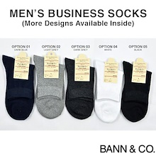 ★SALE!! ALL BELOW $1★ Mens Socks - Business / Work / Quarter / Ankle / Cotton / Comfortable / Stripe