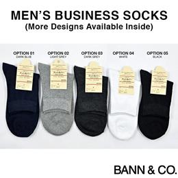 ★SALE!! ALL BELOW $1★ Mens Socks - Business / Work / Quarter / Ankle / Cotton / Comfortable / Stripe