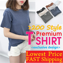 ★6/11 New Arrival★Ladies Short Sleeve T shirts/ Tops /Vest/Basic T-shirts