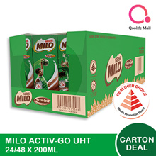[NESTLÉ®] MILO® UHT Ready To Drink! 24/48 x 200ml