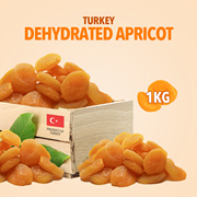 [NATURAL DRIED FRUITS]Turkey AA Grade Dehydrated Yellow Apricot - 1kg