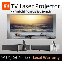 ❤ XIAOMI WEMAX TV Laser projector short throw 4k android from up to 150 inch