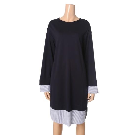 エッチコネクト女性ウブンパッチワンピース3013312180220 面ワンピース/ 韓国ファッション