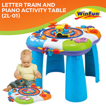 Winfun Letter Train And Piano Activity Table(2L-01)