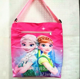 Tuition Bag/ School Bag/ Tote bag/Drawing Bag/Student tuition cartoon double waterproof shoulder ba